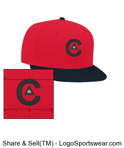 CAPtivate_fitted_red Design Zoom